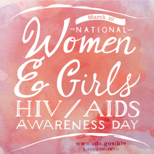 NATIONAL WOMEN & GIRLS HIV/AIDS AWARENESS DAY