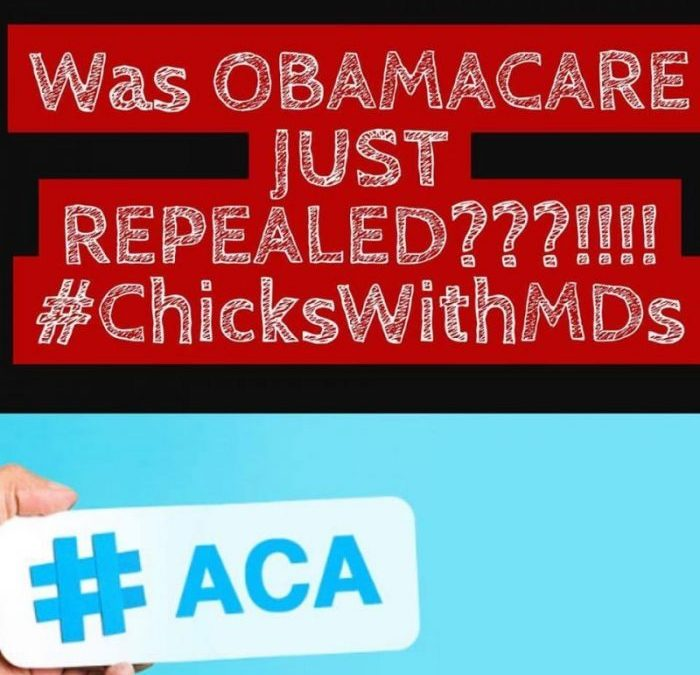 Wait, WHAT???  Was Obamacare Just Repealed???  What About THE AFFORDABLE CARE ACT??